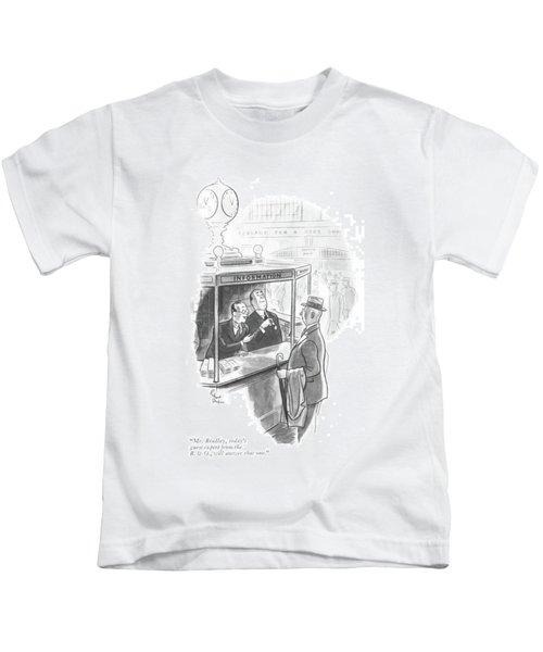 Mr. Bradley Kids T-Shirt
