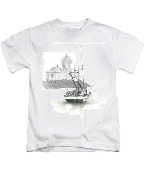Mukilteo Lighthouse Kids T-Shirt