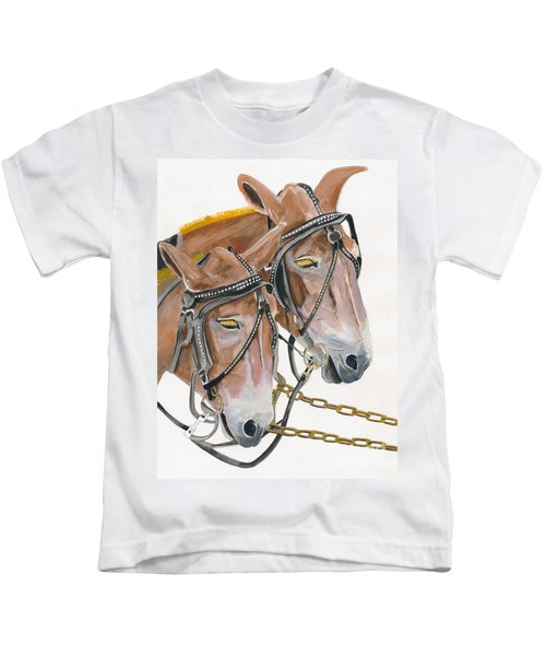 Mules - Two - Beast Of Burden Kids T-Shirt