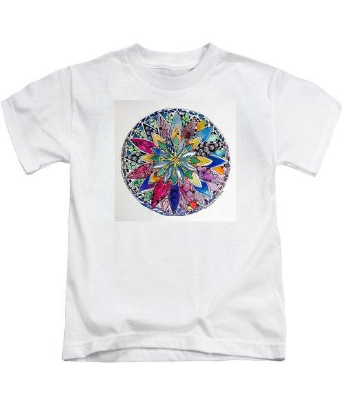 Spring Mandala Kids T-Shirt
