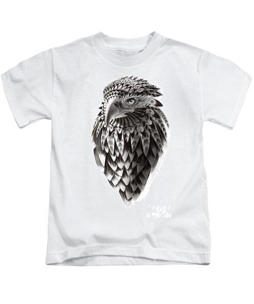 Native American Shaman Eagle Kids T-Shirt