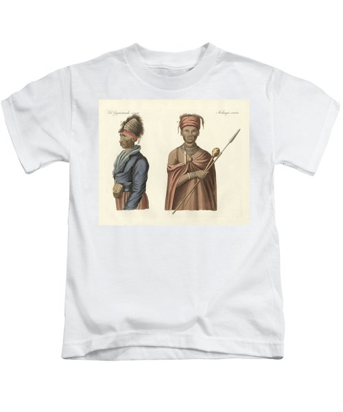 Natives Of South Africa Kids T-Shirt