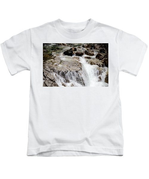 Backroad Waterfall Kids T-Shirt