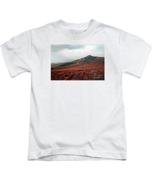 Nevado De Toluca Mexico II Kids T-Shirt
