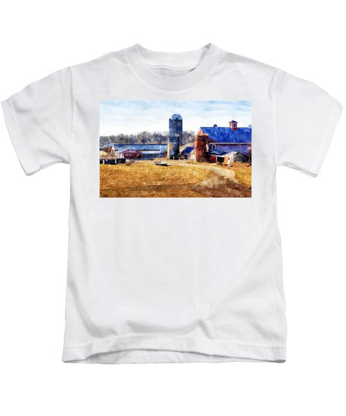 New England Farm 2 Kids T-Shirt