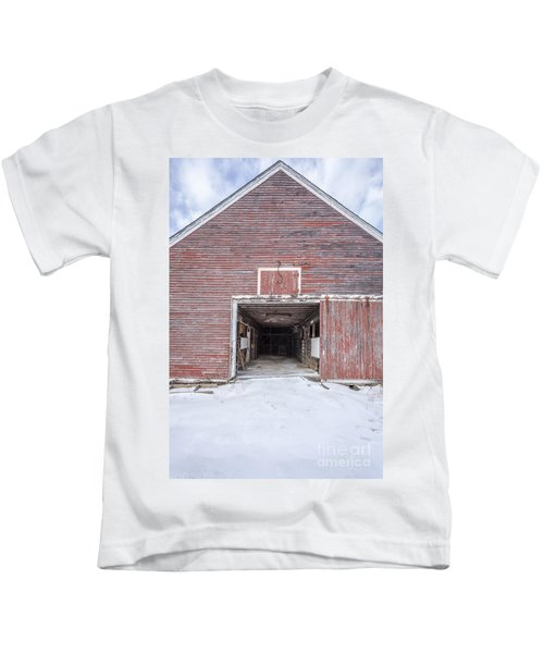 New England Red Barn Open Door Kids T-Shirt