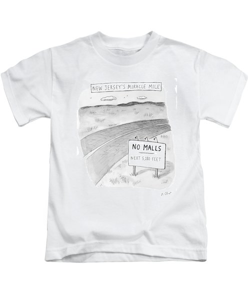 New Jersey's Miracle Mile Kids T-Shirt
