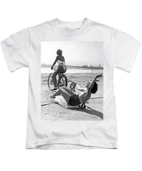 New Sport Of Ice Planing Kids T-Shirt