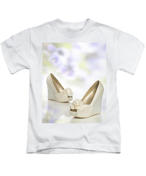 New Wedding Sandals Kids T-Shirt