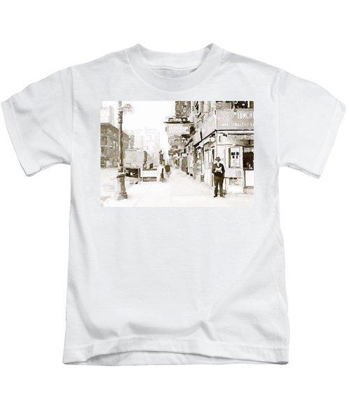 New York 1940 Kids T-Shirt