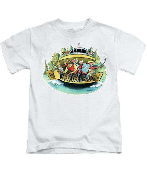 New York Classical Theatre's Henry V Takes Kids T-Shirt