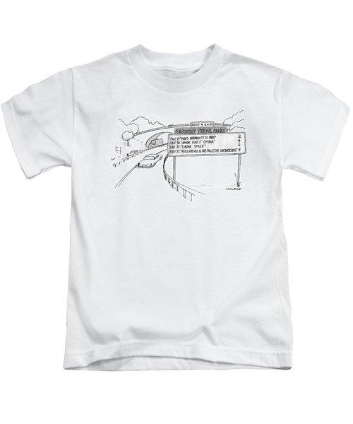 New Yorker April 30th, 1990 Kids T-Shirt