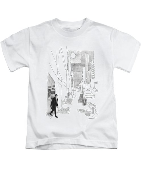 New Yorker April 3rd, 1965 Kids T-Shirt