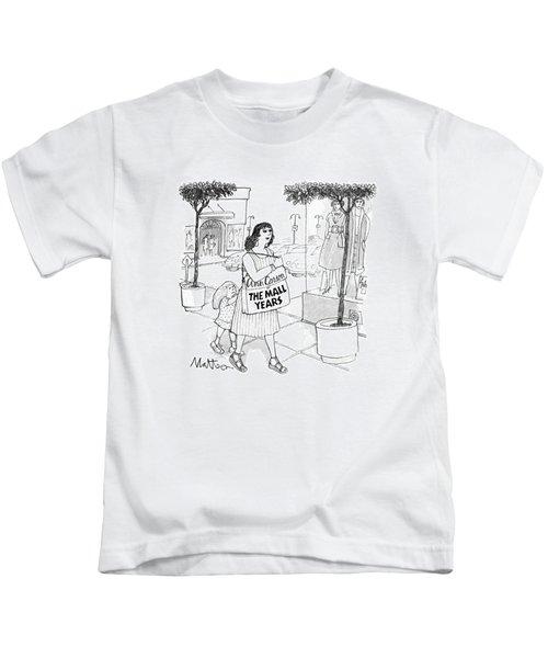 New Yorker August 15th, 1988 Kids T-Shirt