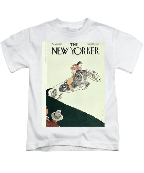 New Yorker August 24 1935 Kids T-Shirt