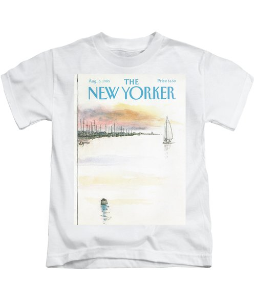 New Yorker August 5th, 1985 Kids T-Shirt