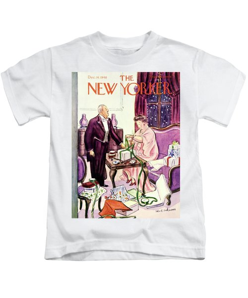 New Yorker December 14 1940 Kids T-Shirt