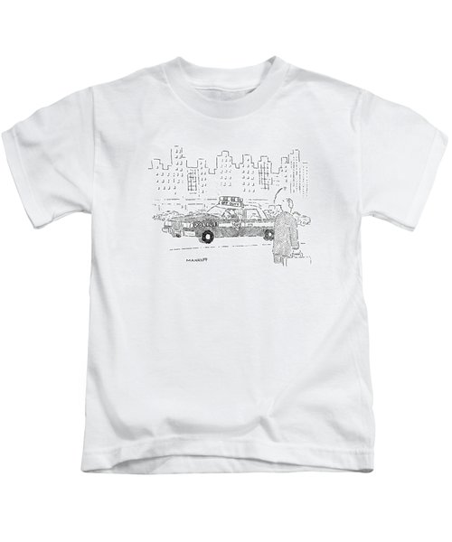 New Yorker December 16th, 1991 Kids T-Shirt