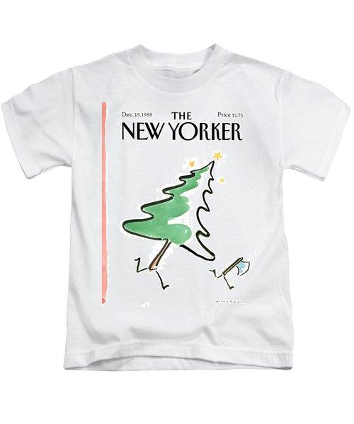 New Yorker December 19th, 1988 Kids T-Shirt