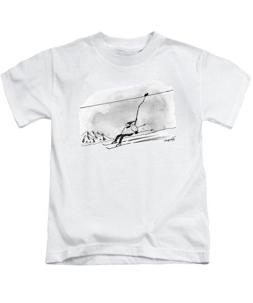 New Yorker December 28th, 1992 Kids T-Shirt