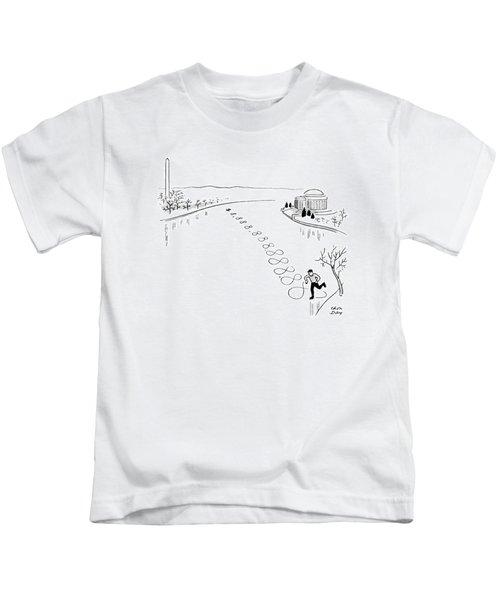 New Yorker December 30th, 1944 Kids T-Shirt