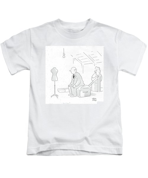 New Yorker February 19th, 1944 Kids T-Shirt