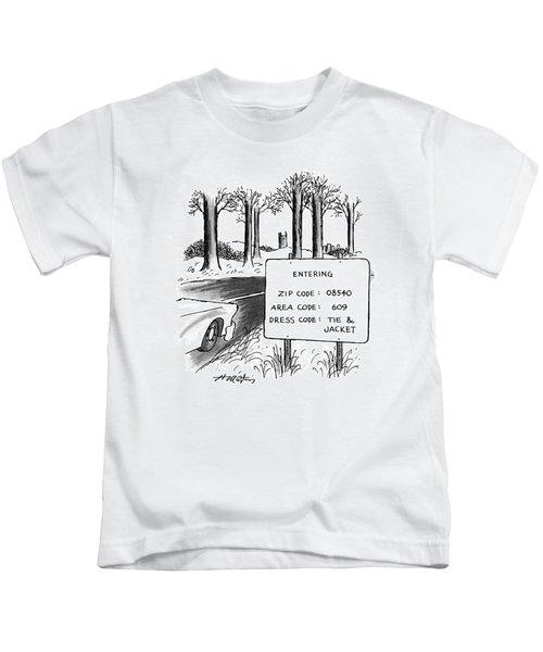 New Yorker February 1st, 1993 Kids T-Shirt