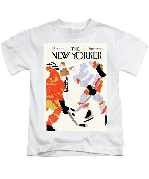 New Yorker February 28th, 1970 Kids T-Shirt