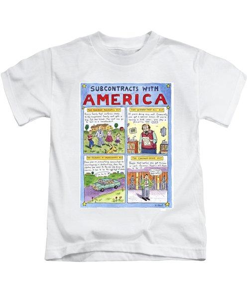 New Yorker January 16th, 1995 Kids T-Shirt