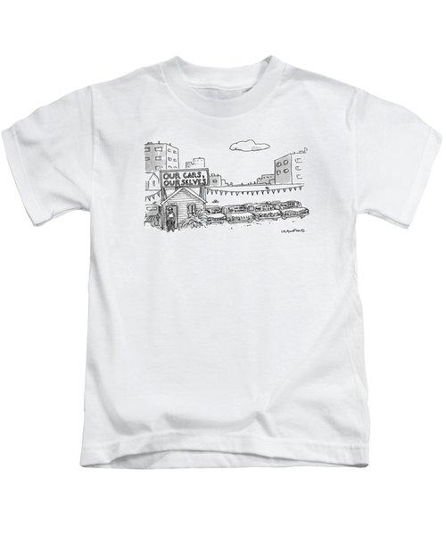 New Yorker January 1st, 1990 Kids T-Shirt