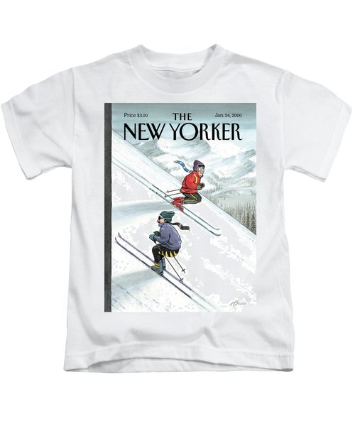 New Yorker January 24th, 2000 Kids T-Shirt