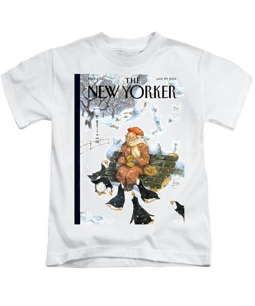 New Yorker January 29th, 2001 Kids T-Shirt