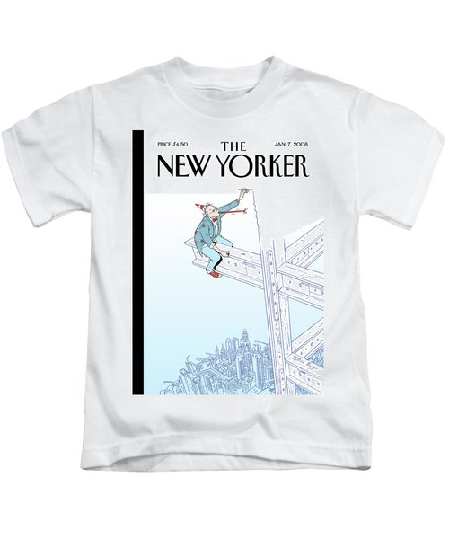 New Yorker January 7th, 2008 Kids T-Shirt