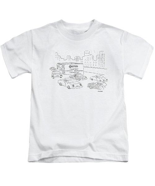 New Yorker July 2nd, 1990 Kids T-Shirt