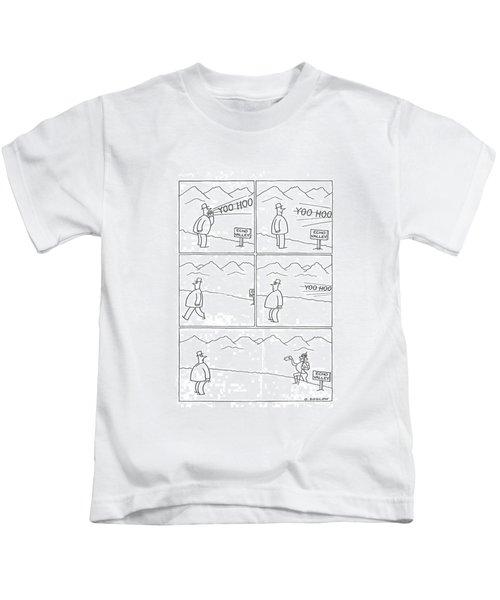 New Yorker July 6th, 1940 Kids T-Shirt