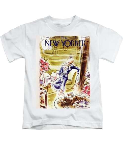 New Yorker June 25 1938 Kids T-Shirt