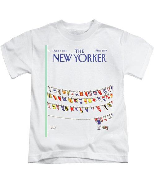 New Yorker June 3rd, 1985 Kids T-Shirt