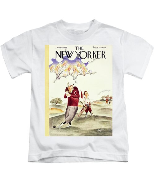 New Yorker June 6 1936 Kids T-Shirt