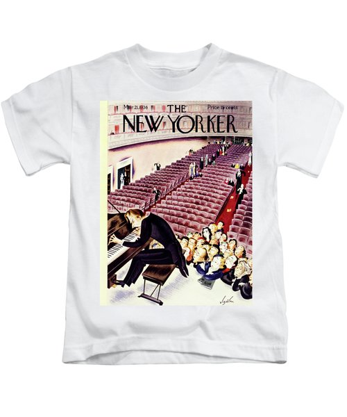 New Yorker March 21 1936 Kids T-Shirt