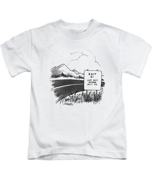 New Yorker March 27th, 1995 Kids T-Shirt