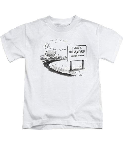 New Yorker May 11th, 1992 Kids T-Shirt