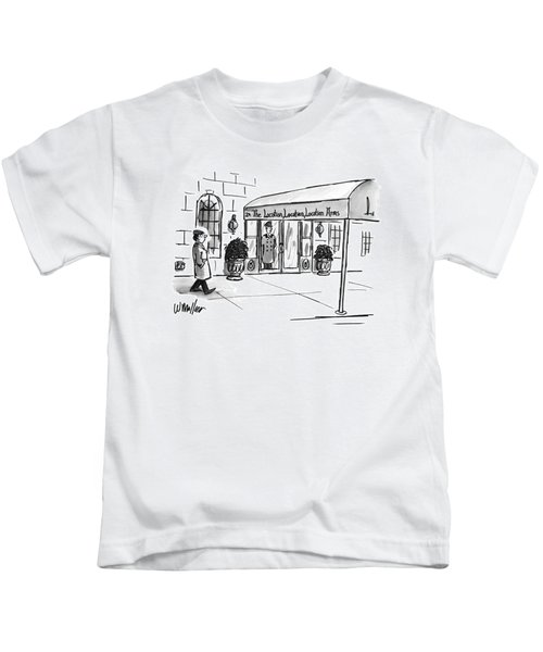 New Yorker May 13th, 1996 Kids T-Shirt