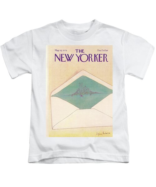 New Yorker May 14th, 1979 Kids T-Shirt