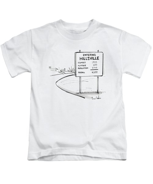 New Yorker May 17th, 1976 Kids T-Shirt