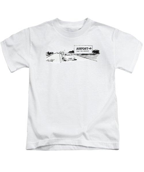 New Yorker November 10th, 1986 Kids T-Shirt