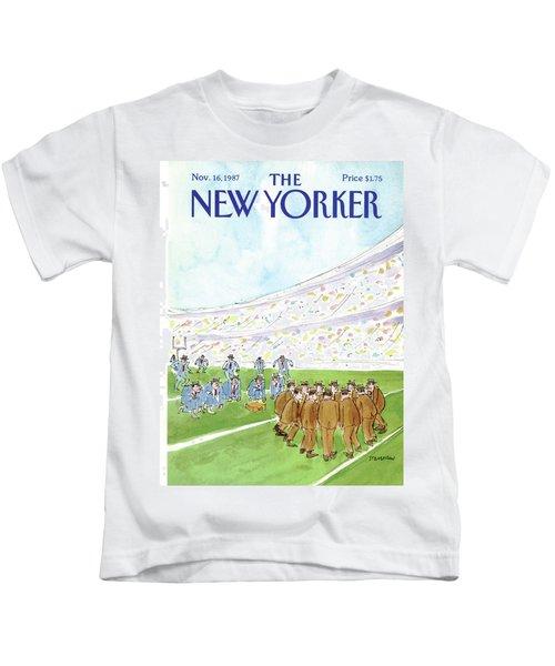 New Yorker November 16th, 1987 Kids T-Shirt