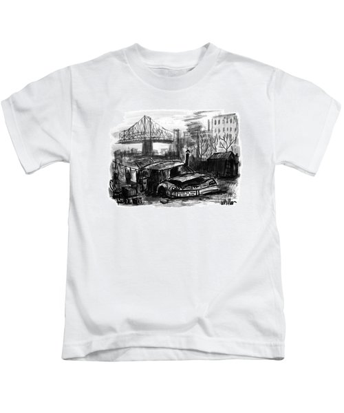New Yorker November 16th, 1992 Kids T-Shirt