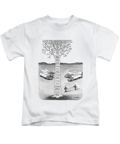 New Yorker November 30th, 1998 Kids T-Shirt