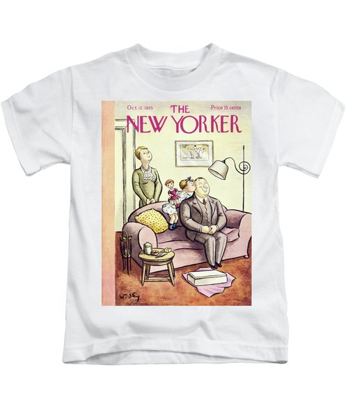 New Yorker October 12 1935 Kids T-Shirt
