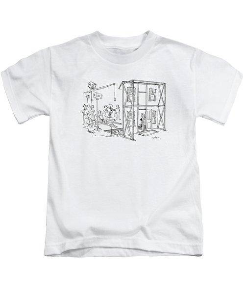 New Yorker October 19th, 1946 Kids T-Shirt